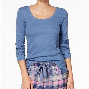 Jenni by Jennifer Moore Women/'s Sleepwear Pajama Sleepshirt Gray Pink $29.50